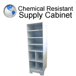 Chemical Resistant Supply Cabinet