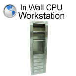 In Wall CPU Workstation