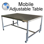 Mobile Adjustable Table