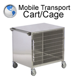 Mobile Transport Cart and Cage