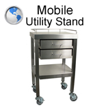 Mobile Utility Stand