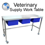 Veterinary Supply Worktable