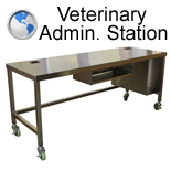 Stainless Steel Admin Station