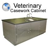 Veterinary Casework Cabinet