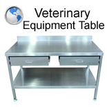 Veterinary Equipment Table