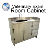 Veterinary Exam Room Cabinet
