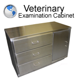 Veterinary Examination Cabinet