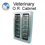 Veterinary Operating Room Cabinet