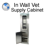 Veterinary Supply Cabinet