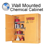 Wall Mounted Chemical Cabinet